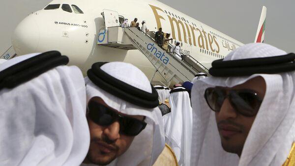 Emirates Airbus A380 - Sputnik Polska