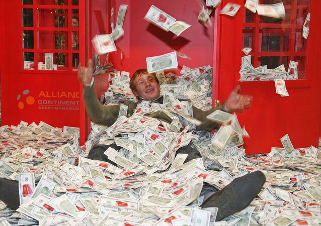 Największa na świecie wystawa luksusu Millionaire Fair w Moskwie. Zdjęcie archiwalne