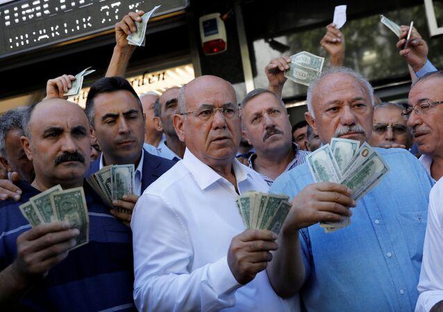 Tureccy przedsiębiorcy w Ankarze
