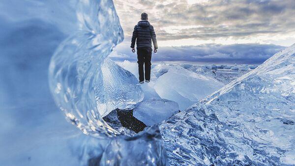 Pejzaż lodowy  - Sputnik Polska