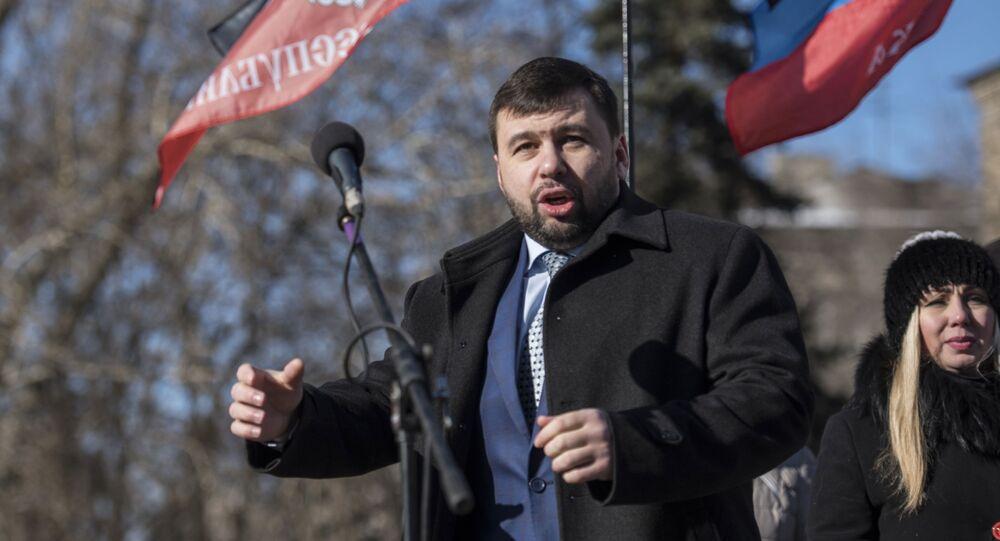Przewodniczący Rady Narodowej DRL Denis Puszylin