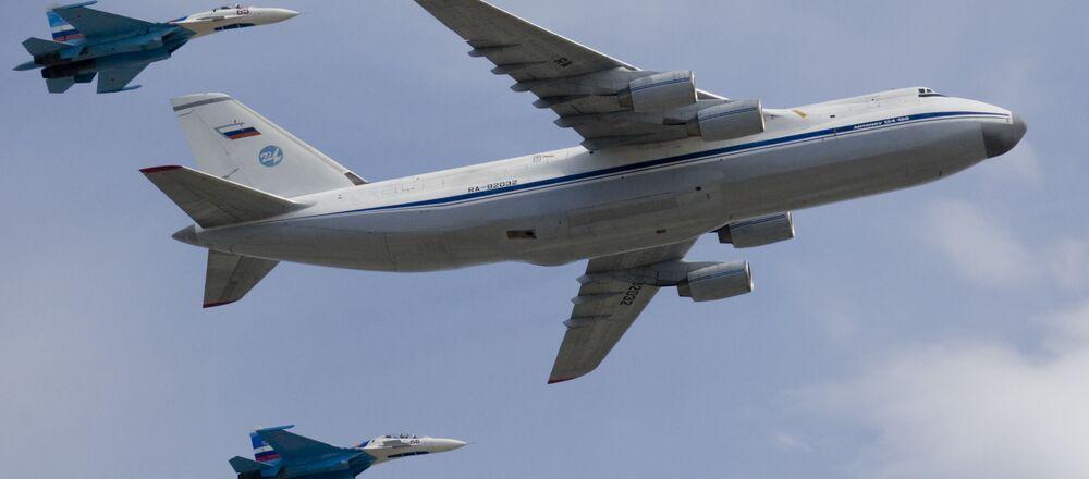 """Strategiczny samolot wojskowo-transportowy An-124 """"Rusłan"""""""