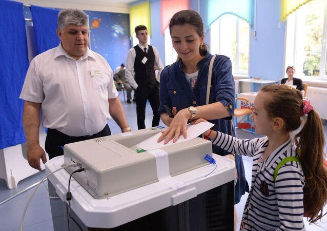 Jedyny dzień głosowania w Rosji