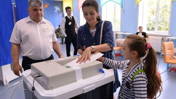Jedyny dzień głosowania w Rosji - Sputnik Polska