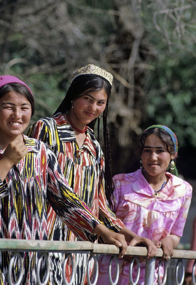 Dziewczyny z Tadżykistanu