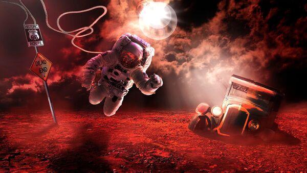 Misja na Marsa - Sputnik Polska