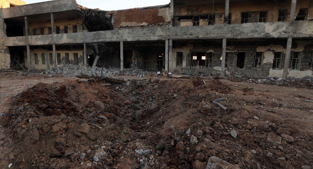 Atak na sztab kurdyjski w Iraku