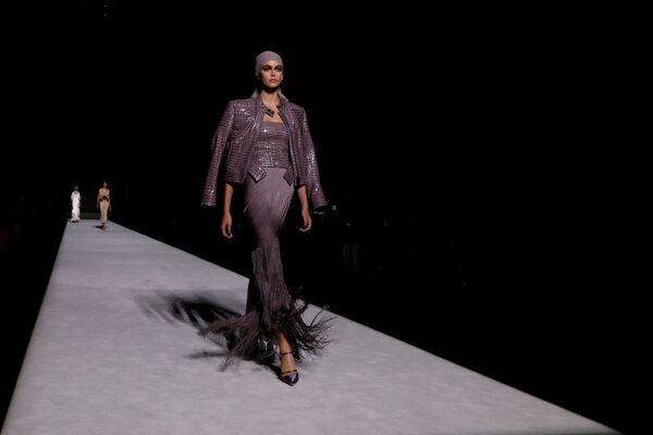 Prezentacja kolekcji Tom Ford podczas Tygodnia Mody w Nowym Jorku - Sputnik Polska