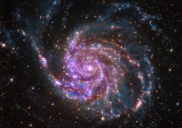Galaktyka spiralna M101