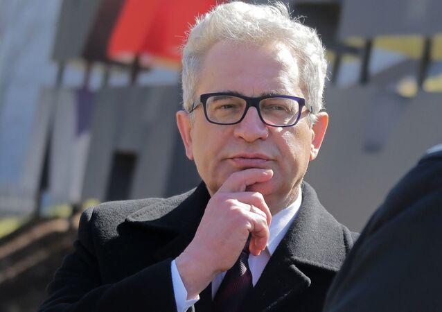 Ambasador Polski w Federacji Rosyjskiej Włodzimierz Marciniak