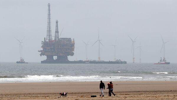 Wydobycie ropy na Morz Północnym przez firmę Brent Delta Topside - Sputnik Polska