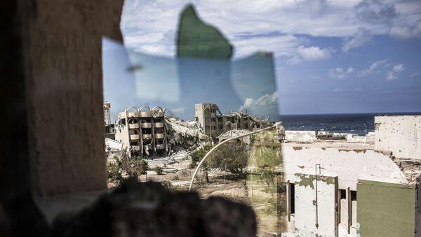 Ruiny libijskiego miasta Surt. Zdjęcie archiwalne - Sputnik Polska
