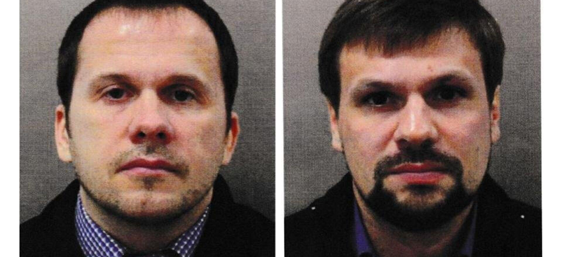 Podejrzani w sprawie rzekomego otrucia Skripalów w Salisbury Aleksander Pietrow i Rusłan Boszyrow - Sputnik Polska, 1920, 17.04.2021
