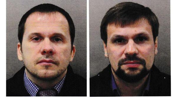 Podejrzani w sprawie rzekomego otrucia Skripalów w Salisbury Aleksander Pietrow i Rusłan Boszyrow - Sputnik Polska