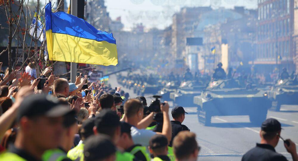 Defilada wojskowa w Kijowie z okazji Dnia Niezależności Ukrainy