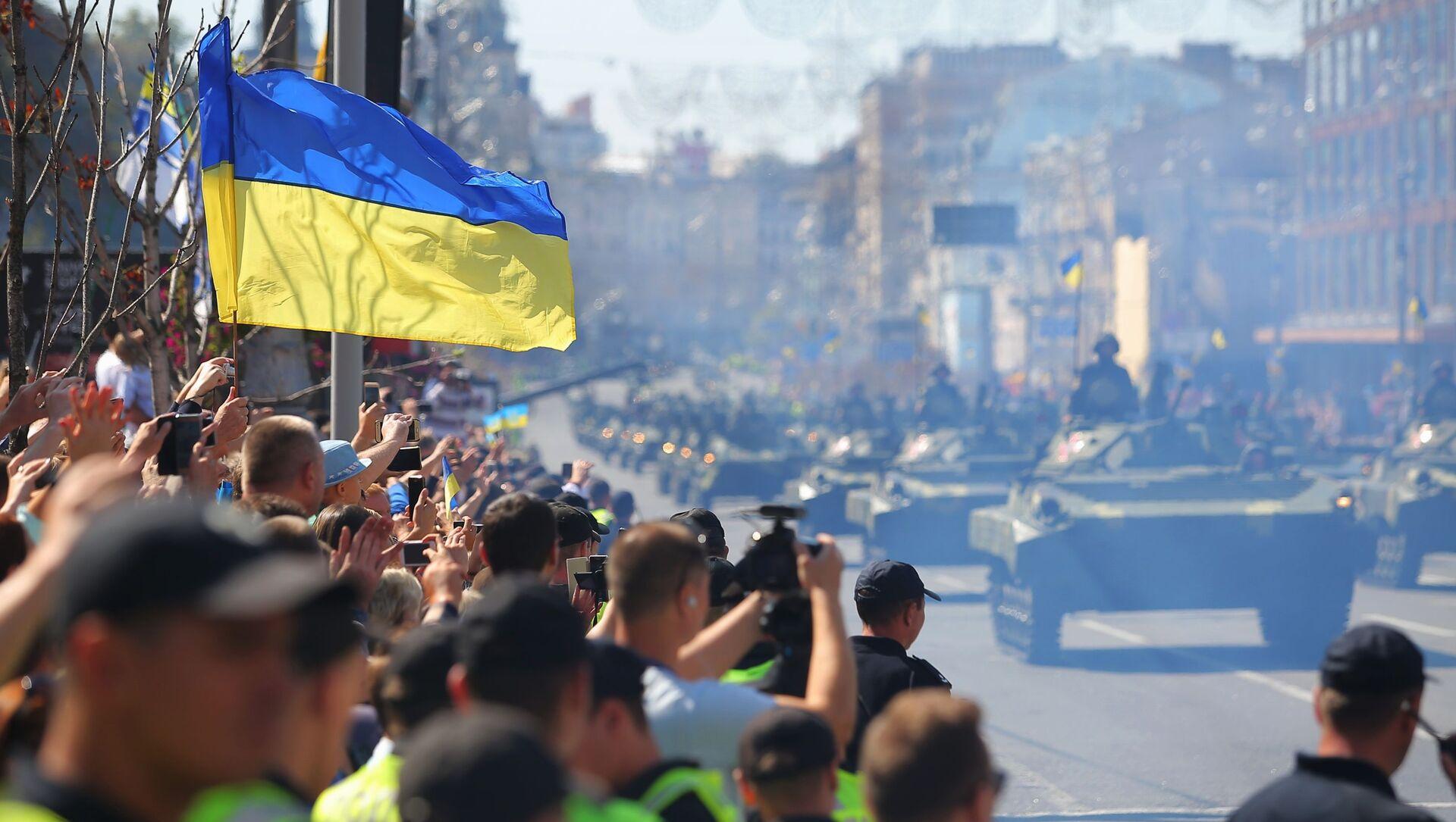 Defilada wojskowa w Kijowie z okazji Dnia Niezależności Ukrainy - Sputnik Polska, 1920, 20.05.2021