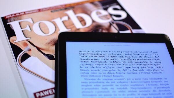 Forbes - Sputnik Polska