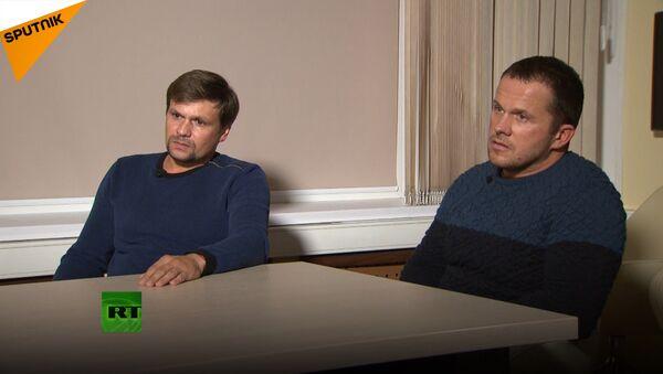 Wywiad z Rosjanami, podejrzanymi o otrucie Skripala - Sputnik Polska
