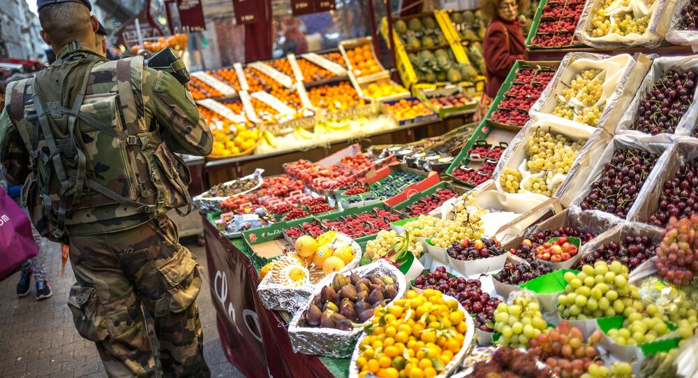 Rynek we Francji