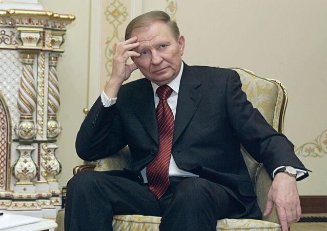 Były prezydent Ukrainy Leonid Kuczma