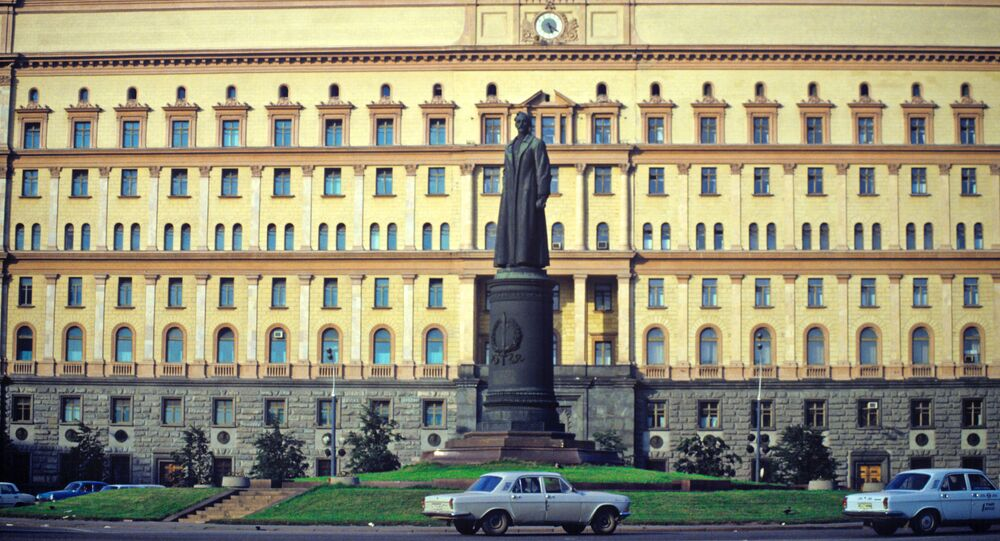 Budynek KGB, Moskwa, 1991r.