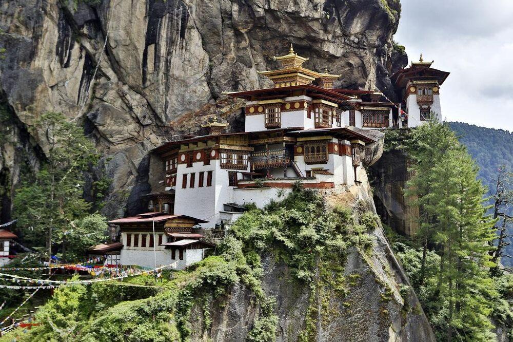 Klasztor Taktsang Palphug, Bhutan