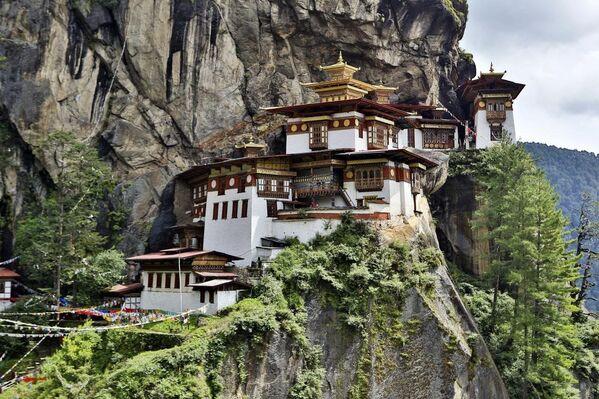 Klasztor Taktsang Palphug, Bhutan - Sputnik Polska