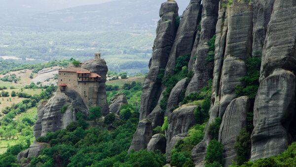Klasztor Świętego Mikołaja Odpoczywającego, Grecja  - Sputnik Polska
