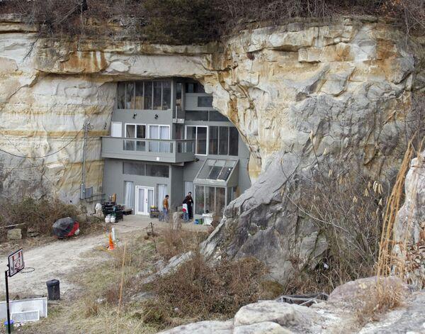 Dom w Missouri – stan w Stanach Zjednoczonych, leżący w regionie Midwest na obszarze Wielkich Równin - Sputnik Polska