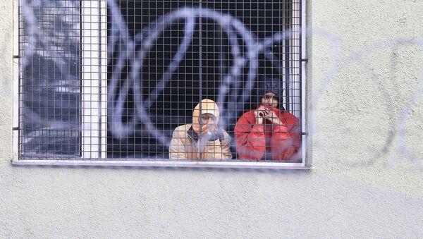 Nielegalni imigranci w Czechach - Sputnik Polska