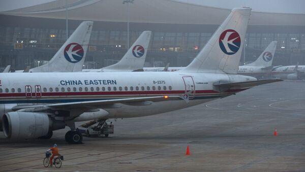 Samolot linii lotniczych China Eastern Airlines - Sputnik Polska