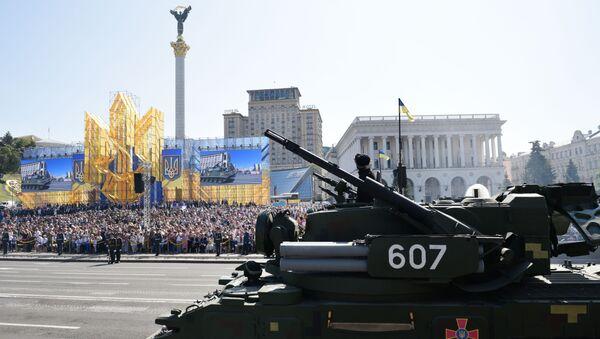 Defilada wojskowa w Kijowie z okazji Dnia Niepodległości Ukrainy - Sputnik Polska