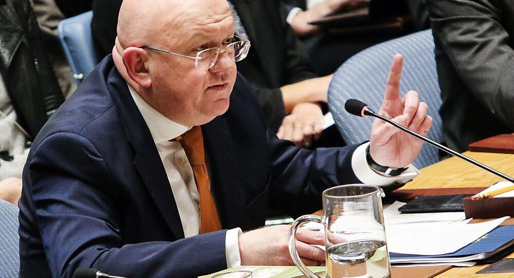 Ambasador Rosji przy ONZ Wasilij Nebenzja