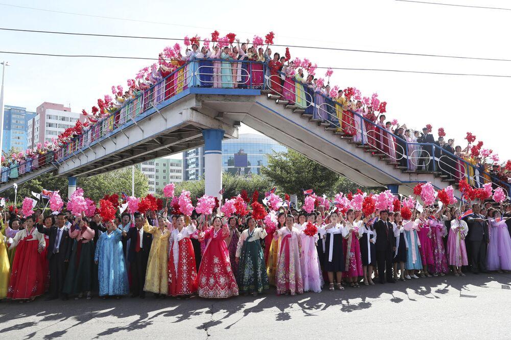 Powitanie prezydenta Korei Południowej