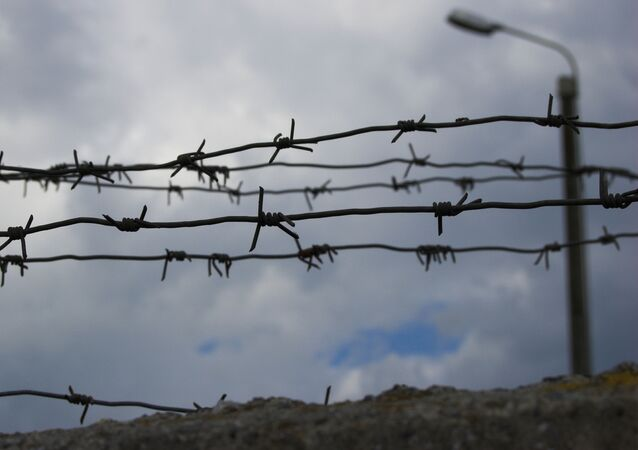 Granica, drut kolczasty