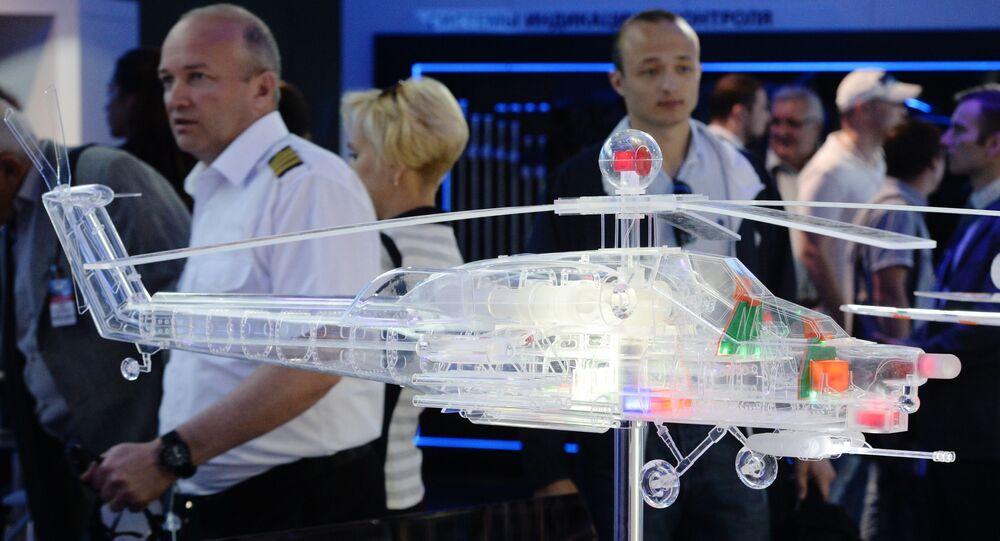 Goście na otwarciu Międzynarodowego Salonu Lotniczego i Kosmicznego MAKS-2015