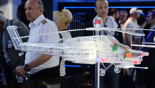 Goście na otwarciu Międzynarodowego Salonu Lotniczego i Kosmicznego MAKS-2015 - Sputnik Polska