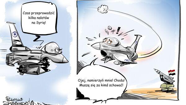 Rosyjski Ił-20 zestrzelony przez syryjski system obrony przeciwlotniczej - Sputnik Polska