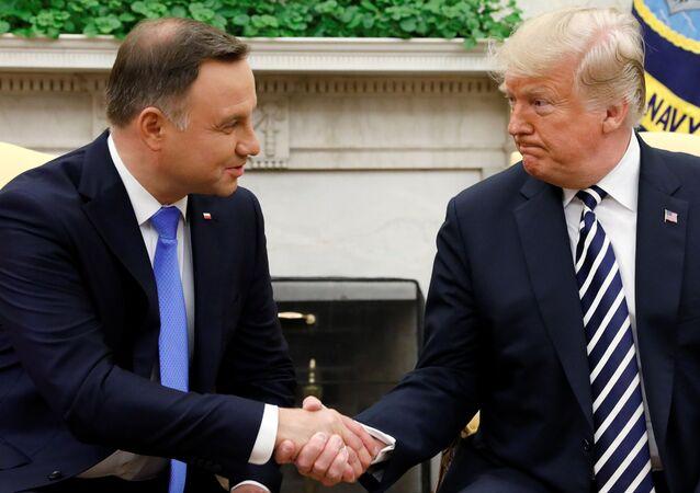 Prezydent Andrzej Duda w Białym Domu