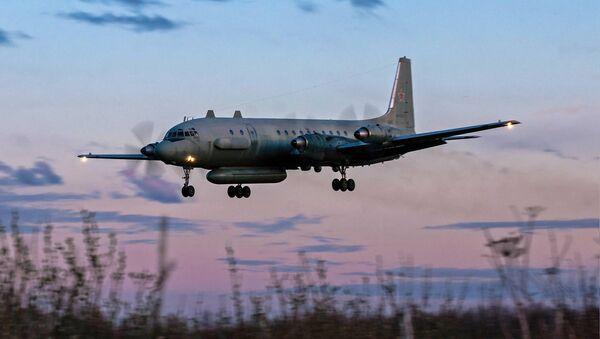 Rosyjski samolot Ił-20M. Zdjęcie archiwalne - Sputnik Polska