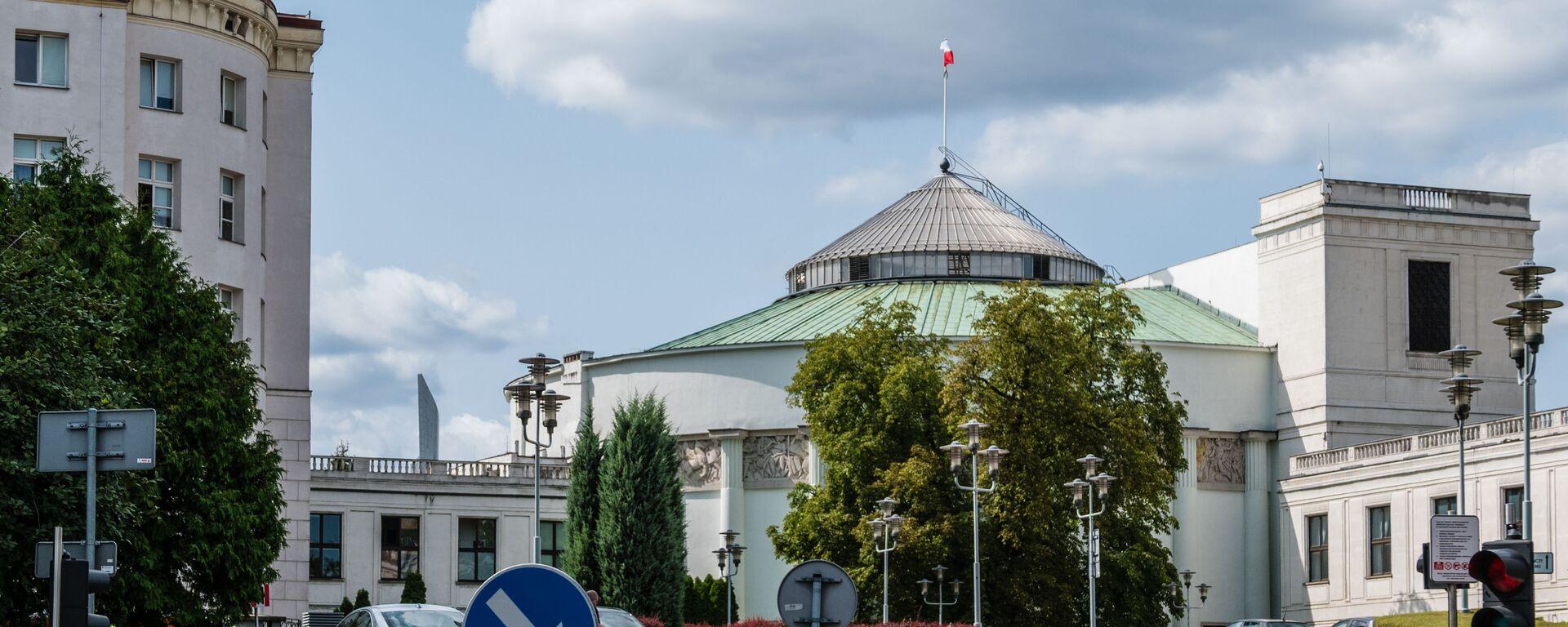 Warszawa. Sejm Rzeczypospolitej Polskiej - Sputnik Polska, 1920, 15.04.2021