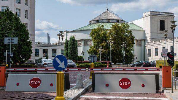 Warszawa. Sejm Rzeczypospolitej Polskiej - Sputnik Polska