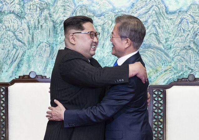 Liderzy dwóch Korei