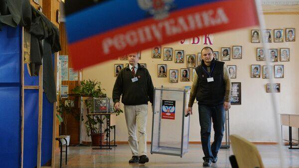 Wybory w Doniecku - Sputnik Polska