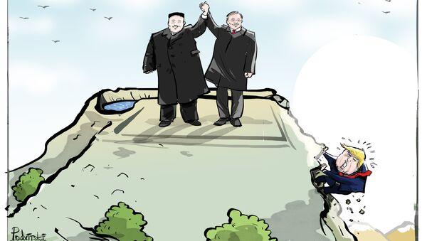 Czy to koniec konfliktu Korei Północnej i Południowej? - Sputnik Polska