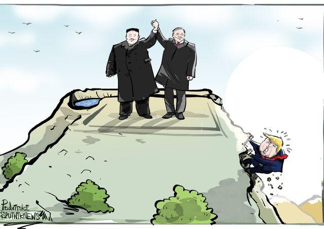 Czy to koniec konfliktu Korei Północnej i Południowej?