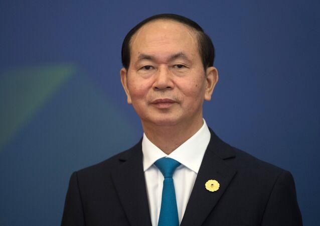 Prezydent Socjalistycznej Republiki Wietnamu Tran Dai Quang