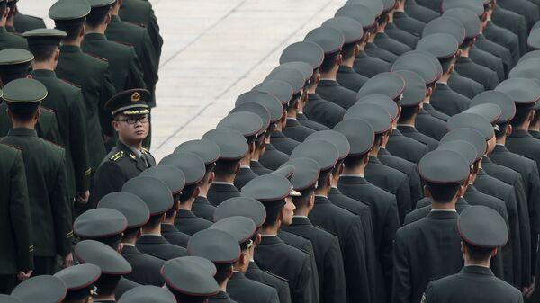 Chińska armia - Sputnik Polska
