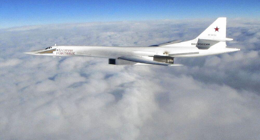 Bombowiec strategiczny Tu-160