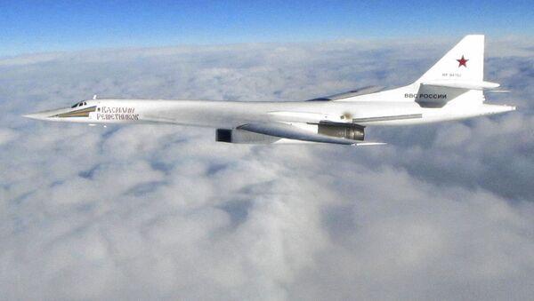 Bombowiec strategiczny Tu-160 - Sputnik Polska
